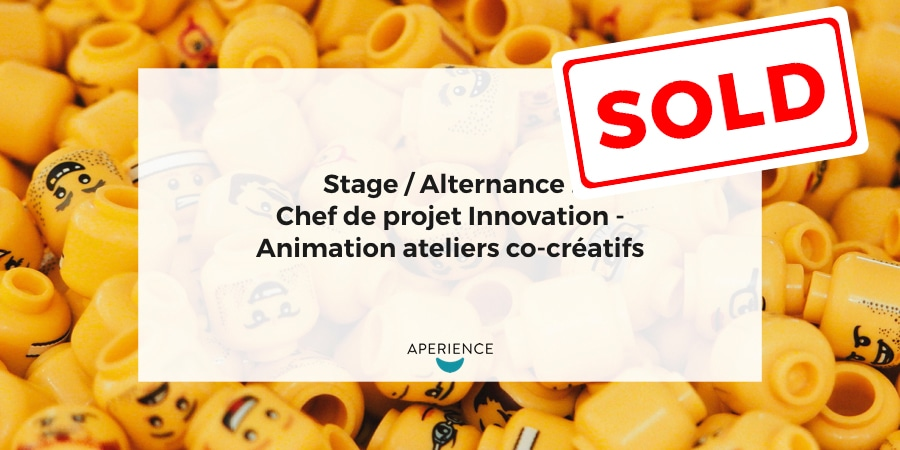 Aperience - Stage 2018.02.22 - Innovation - SOLD