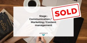 Aperience - Stage 2018.02.22 Marketing - SOLD